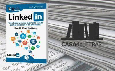 El «GuíaBurros: LinkedIn» en el medio Casa de Letras