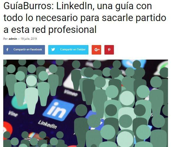 GuíaBurros: LinkedIn en Casa de Letras